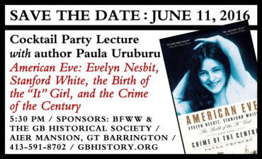 Cocktail party & book lecture at the AIER mansion – Saturday, June 11th