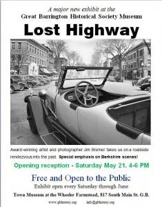 Lost Highway exhibit