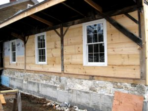Update: Dutch Wagon House now enclosed for the winter