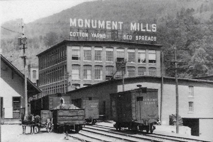 Hear Donna Drew's Monument Mills program on March 29th