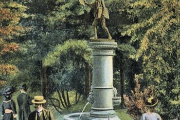 By Gary Leveille: The Mystery & History of the GB Newsboy Statue