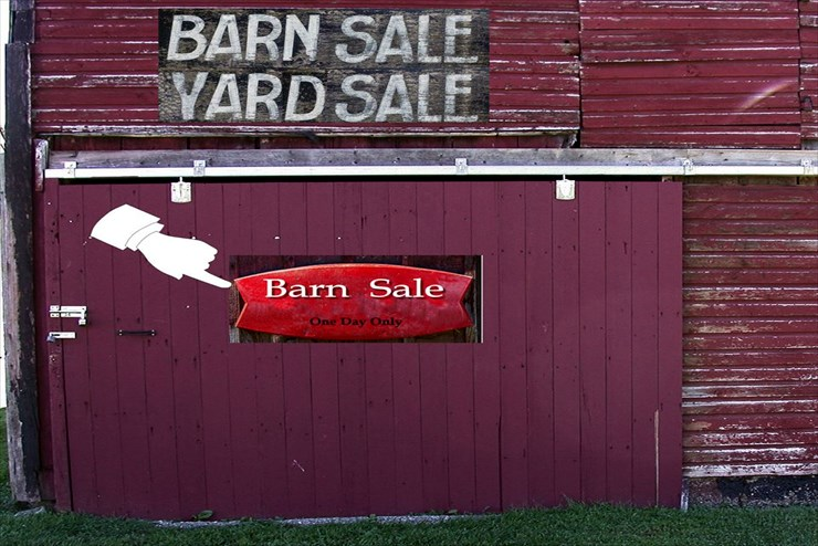 GBHS' first Barn Sale of the season a big success