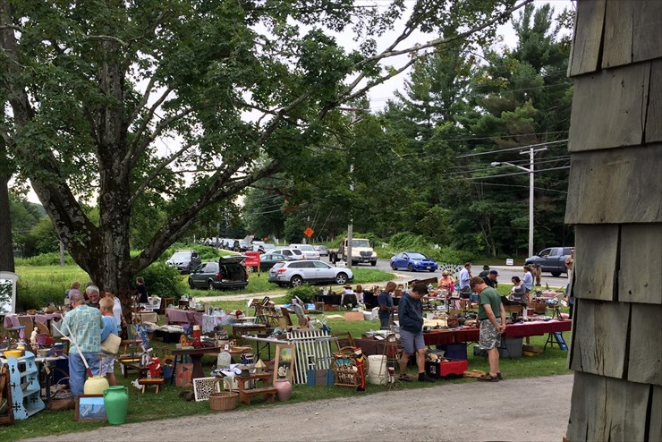 The July 29th GBHS Antique Show & Flea Market a big hit