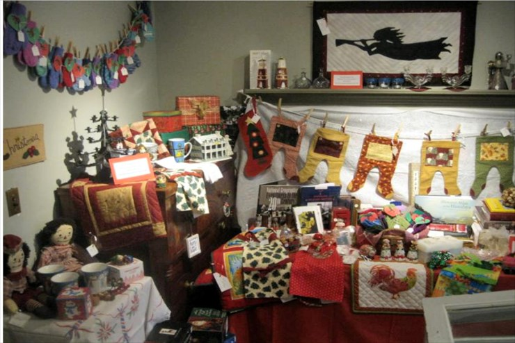 Open now: Christmas display & gift shop at the GBHS Museum