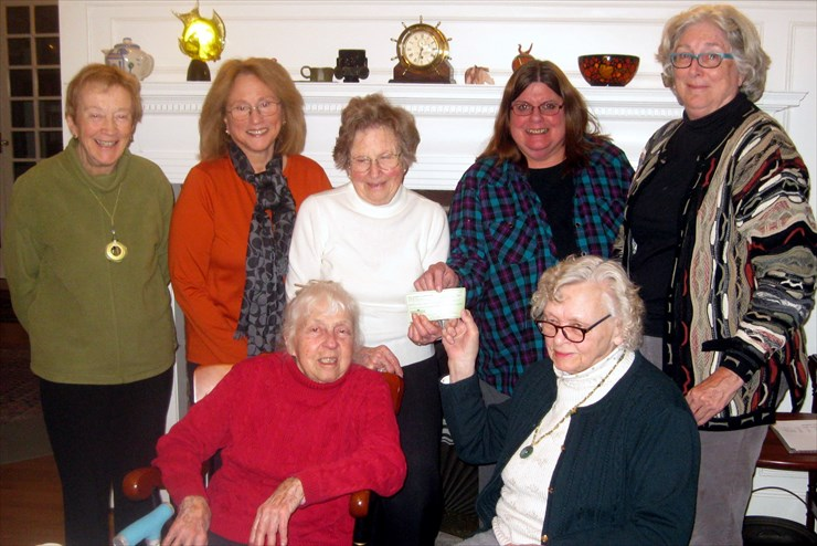 Garden Club members give GBHS funds for new gardens