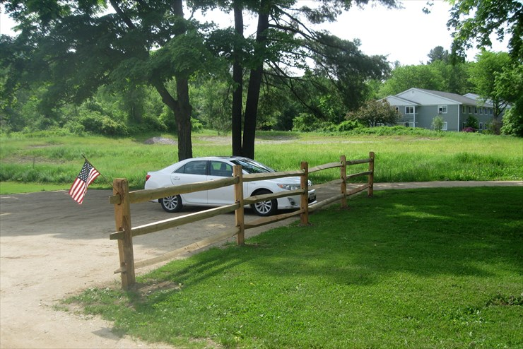 June Update: Fence installed in new parking area