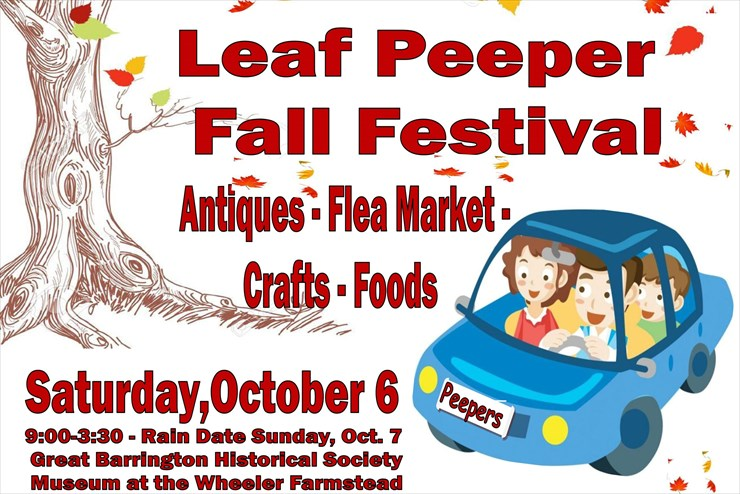 Don't miss the Leaf Peeper Fall Festival this Saturday, Oct. 6th
