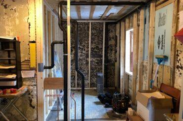 Update: Museum interior improvements – January, 2019