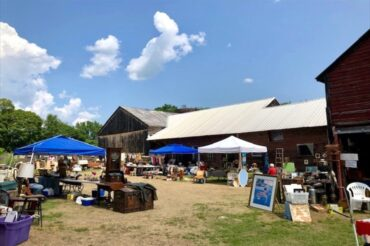 Annual Antique Show and Flea Market in July was a big hit