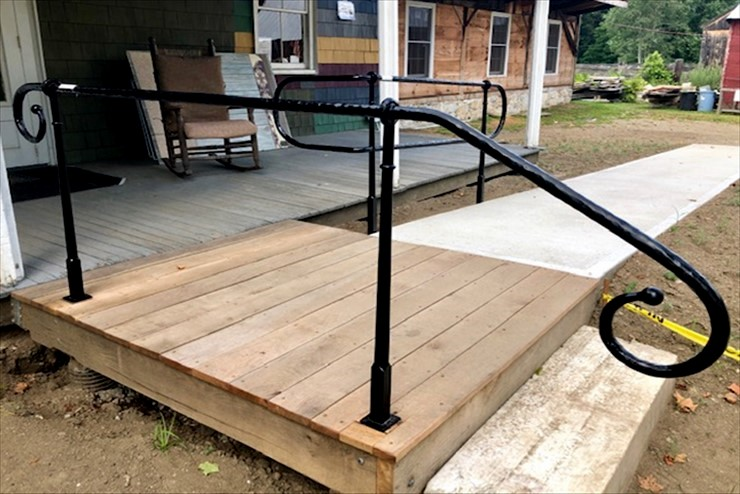 August 2019 Update: handicap accessible walkway completed