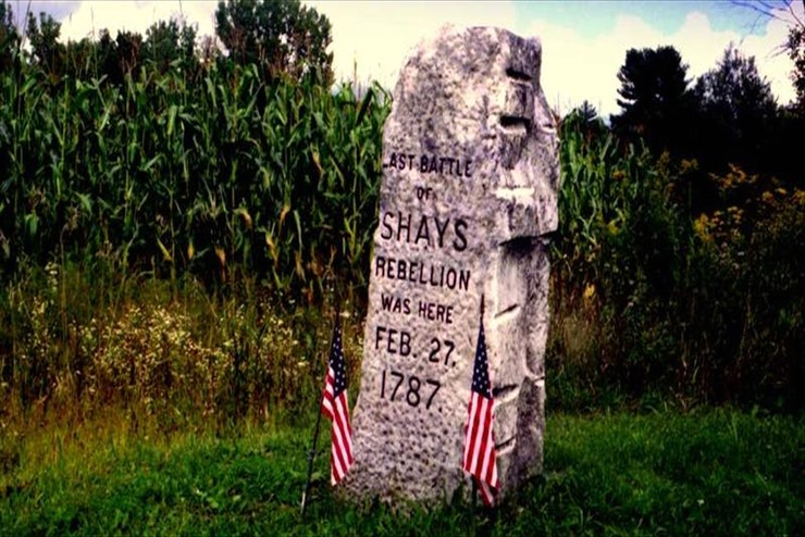 Sat., Oct. 5 – Shays's Rebellion lecture at St. James Place