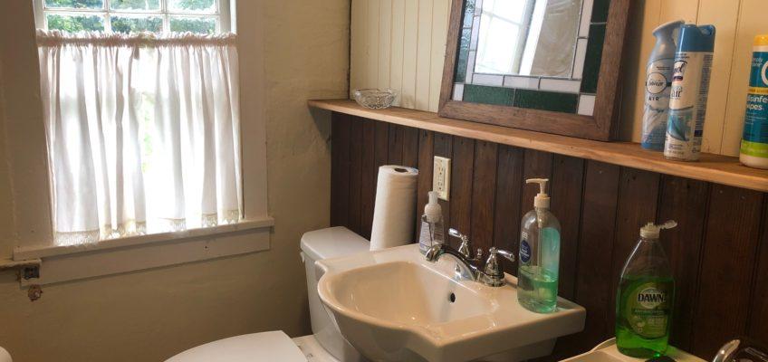 Sept. 2019 – Museum interior improvements continue