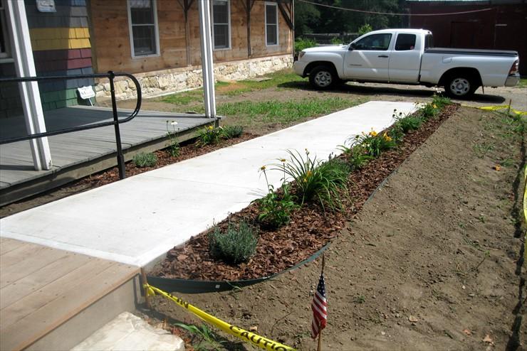 Sept. 2019 Update: handicap accessible walkway completed