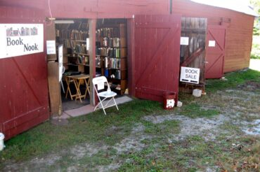 The GBHS expanded Book Nook is open Sundays at the Farmstead year round